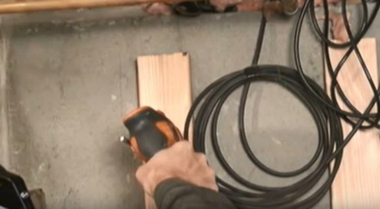 How To Install Furring Strips To Concrete Basement Walls Installing Furring Strips For Drywall Concrete Basement Walls Basement Walls Waterproofing Basement
