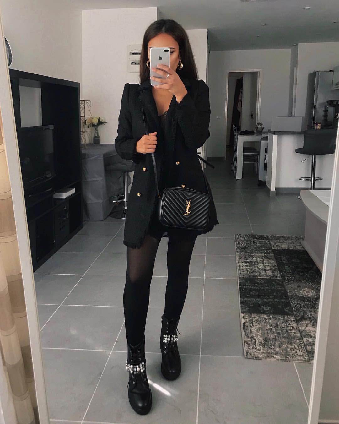 Gefallt 3 312 Mal 31 Kommentare Tissem Rz Tissemrz Auf Instagram Jacket Boots Jeansindustry Modefemm Fashion Work Outfits Women Fashion Outfits