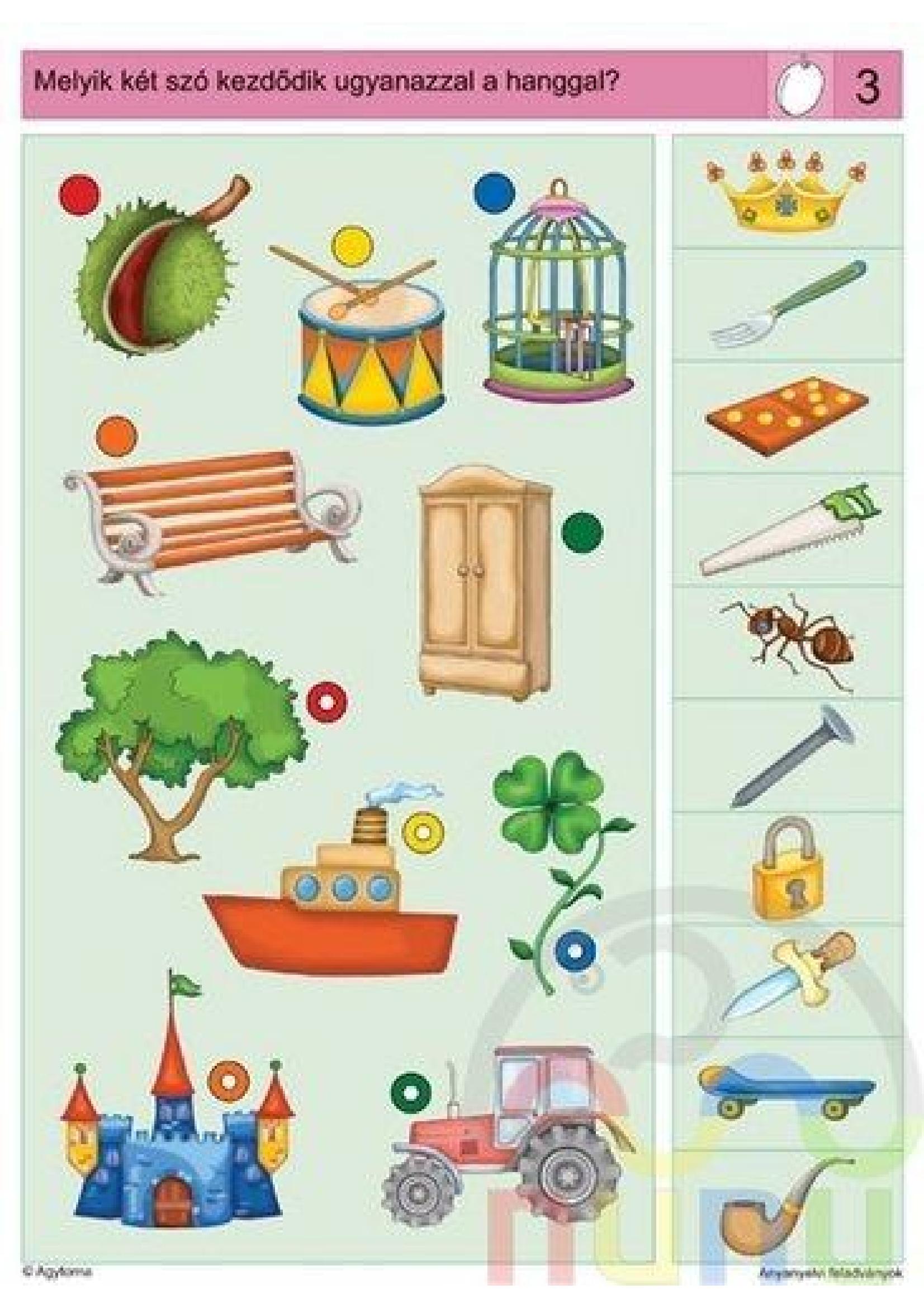 Logical Thinking Worksheet For Kindergarten