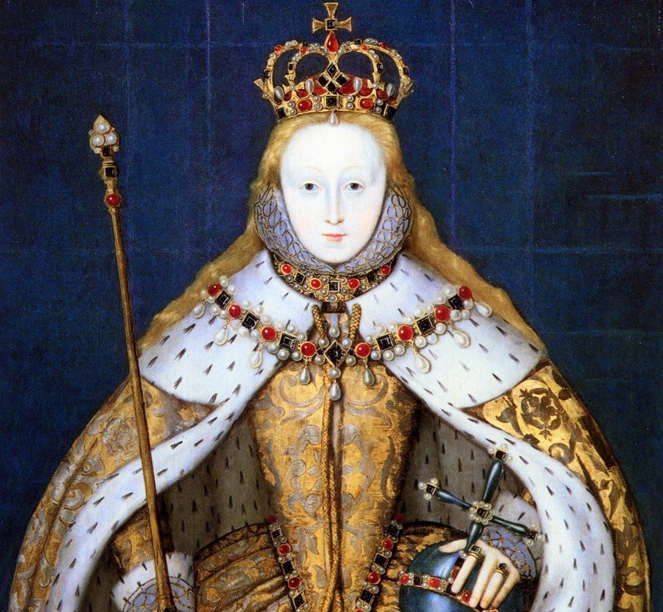 The Queen Elizabeth I The Coronation Portrait, c.1600