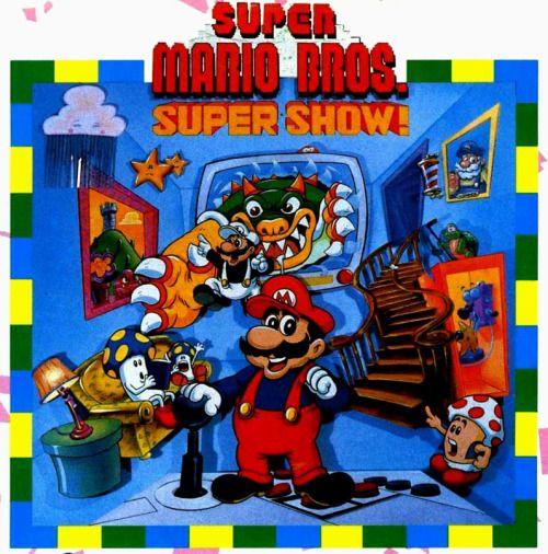 Weird Super Mario Bros Super Show Art From Nintendo Power