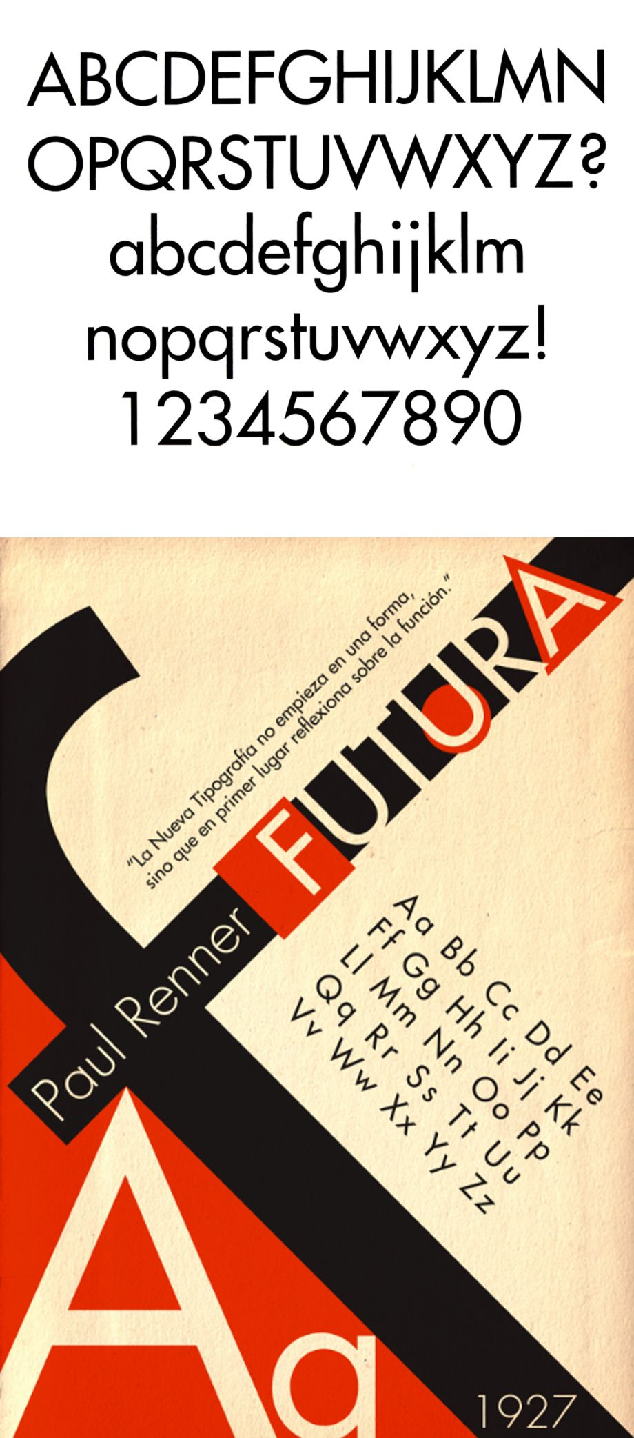 typographie futura