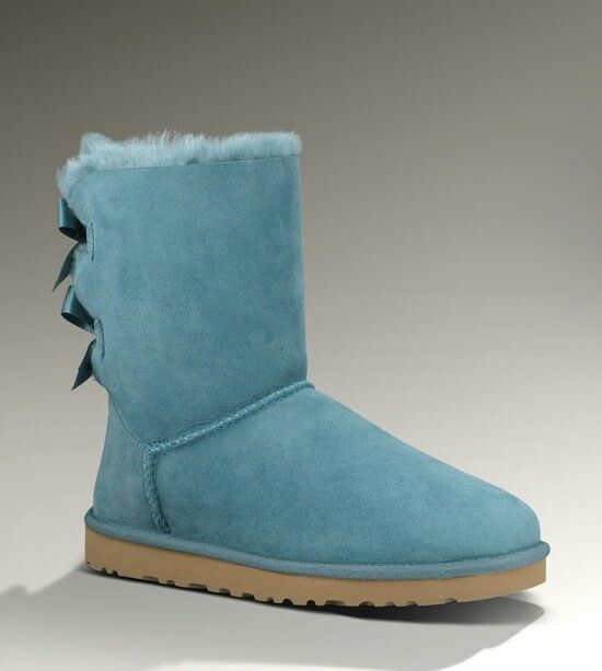 BAILEY BOW WOMEN UGG AUSTRALIA TEAL/BLUE ♥♥♥♥♥