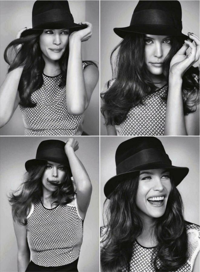 Liv Tyler photographed by Marc Hom for the March 2012