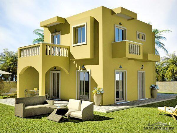مخطط فيلا صغيرة المساحه البلانات المبانى للدور الارضى 65 متر مربع House Layouts House Layout Plans Family House Plans