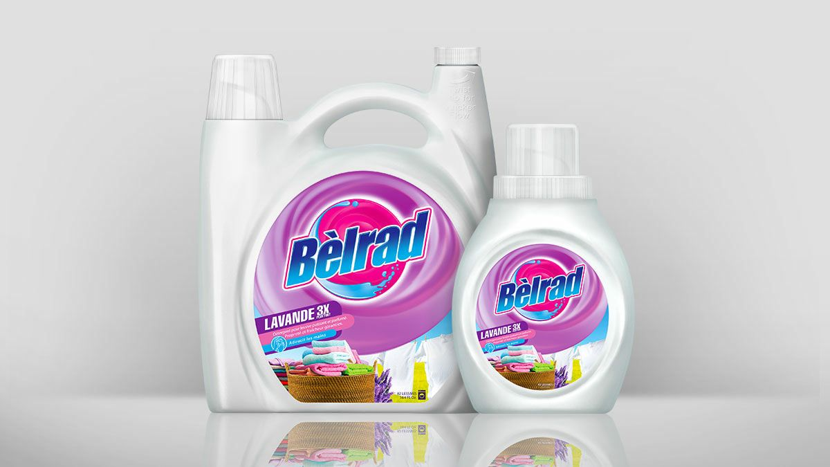 Belrad Laundry Detergent Packaging Mockup By Pong Lizardo