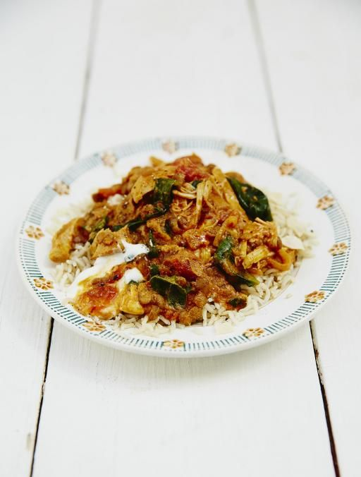 Jools Easy Chicken Curry