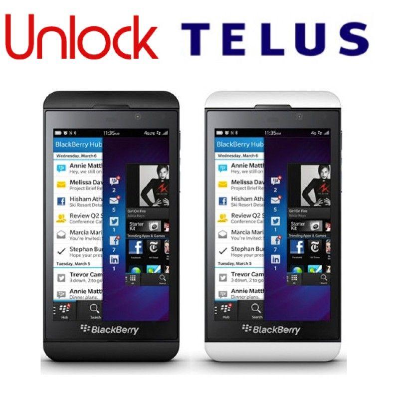 TELUS KOODO UNLOCK CODE FOR BLACKBERRY PHONE ANY CANADIAN MODEL