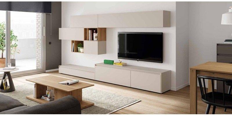 Salón moderno Soleil 06 MOBENIA Tv unit design Pinterest Tv units - wohnzimmer beleuchtung indirekt