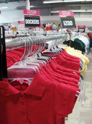 Uniform Shirts With Your School Colors Uniform Shirts School Colors Summer School Outfits