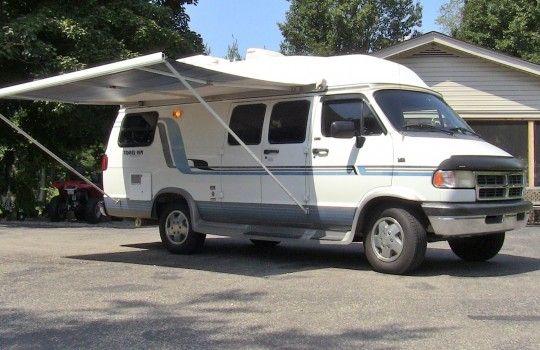 1995 Dodge 19ft Rv Conversion Camper Van Sold Check Out Walk