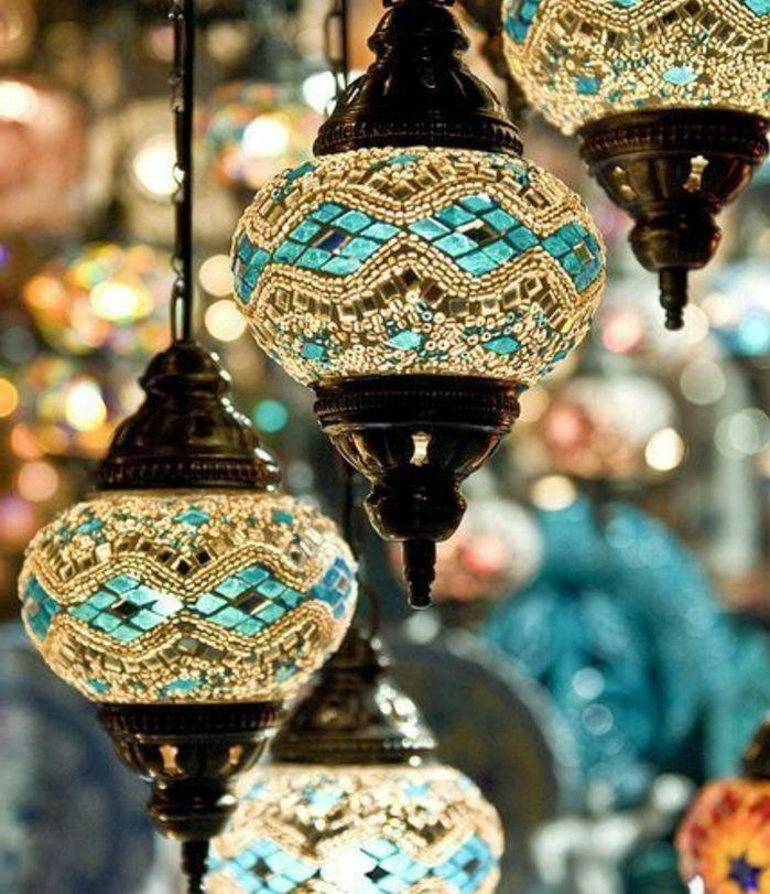 Die feine orientalische Deko kann nicht nur Luxus, sondern auch - arabische deko wohnzimmer orientalisch einrichten