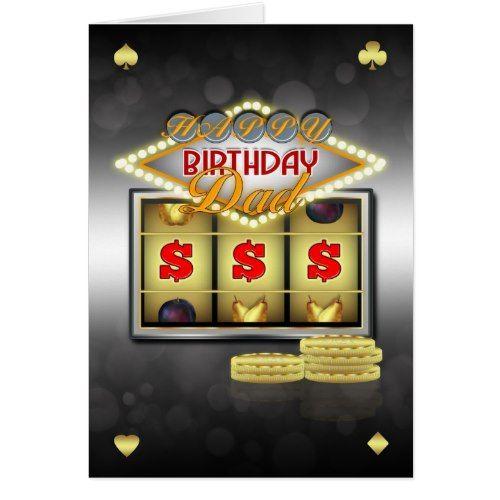 Casino happy birthday images