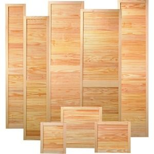 Wickes Internal Louvre Door Pine 610x457mm  sc 1 st  Pinterest : wickes doors - pezcame.com