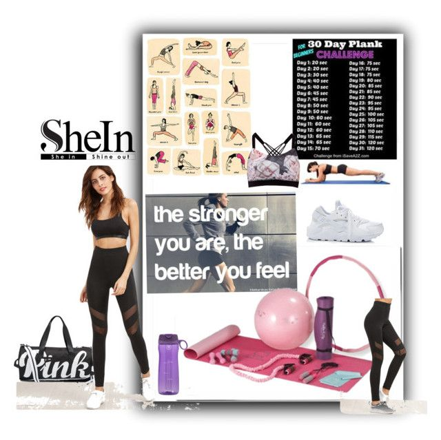 """""""SHEIN"""" by maryann-bunt-deile on Polyvore featuring Equipment, Hello Kitty, NIKE and Ted Baker"""