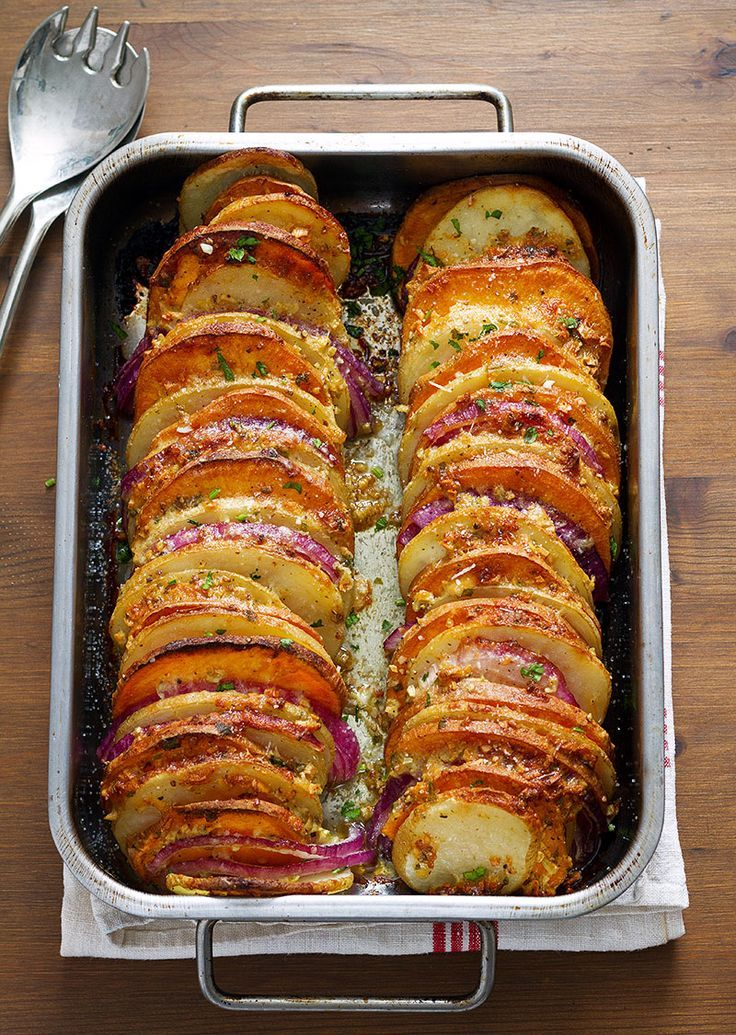 Photo of Garlic Parmesan Roasted Potatoes