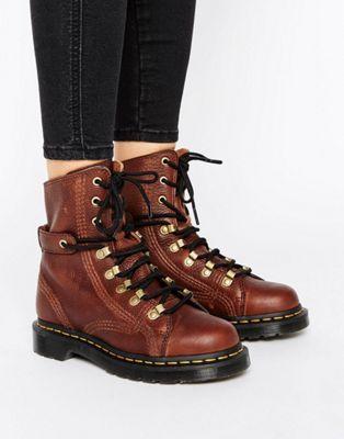 Hot Sale Women Dr Martens Coraline Chunky Lace Up Hiker Boots Hot Sale Online