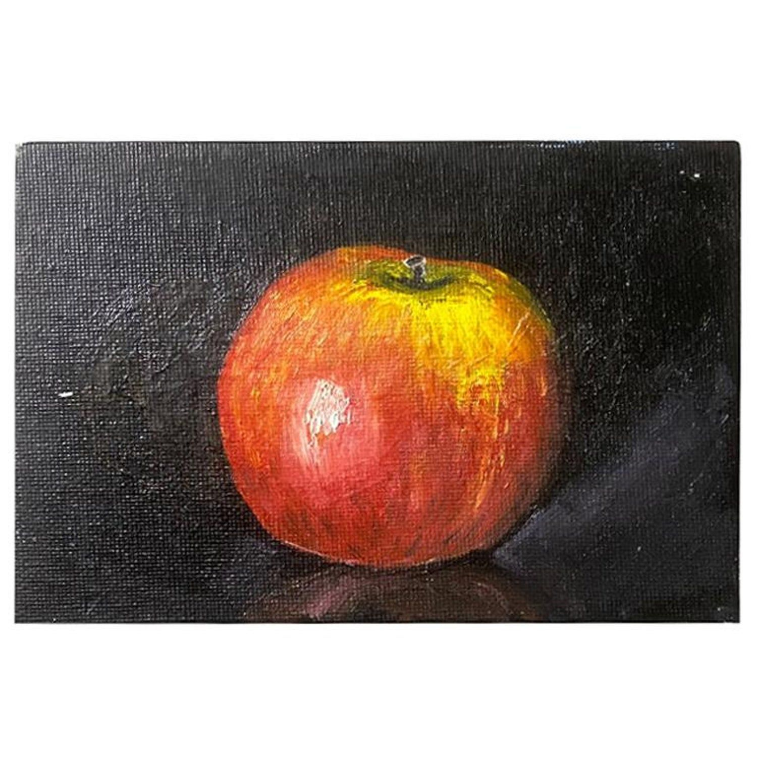 Still Life Painting Of A Red Apple In 2020 Still Life Painting Watercolor Paintings For Beginners Painting