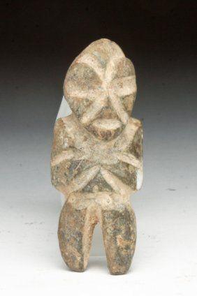 Another Mezcala Diorite Stone Figure