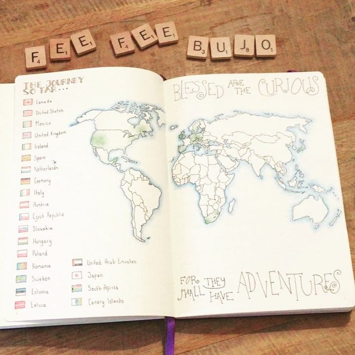 World map tutorial youtube video in link fee fee feefeebujo on world map tutorial youtube video in link fee fee feefeebujo on instagram so i made a youtube video of my travel journal gumiabroncs Choice Image