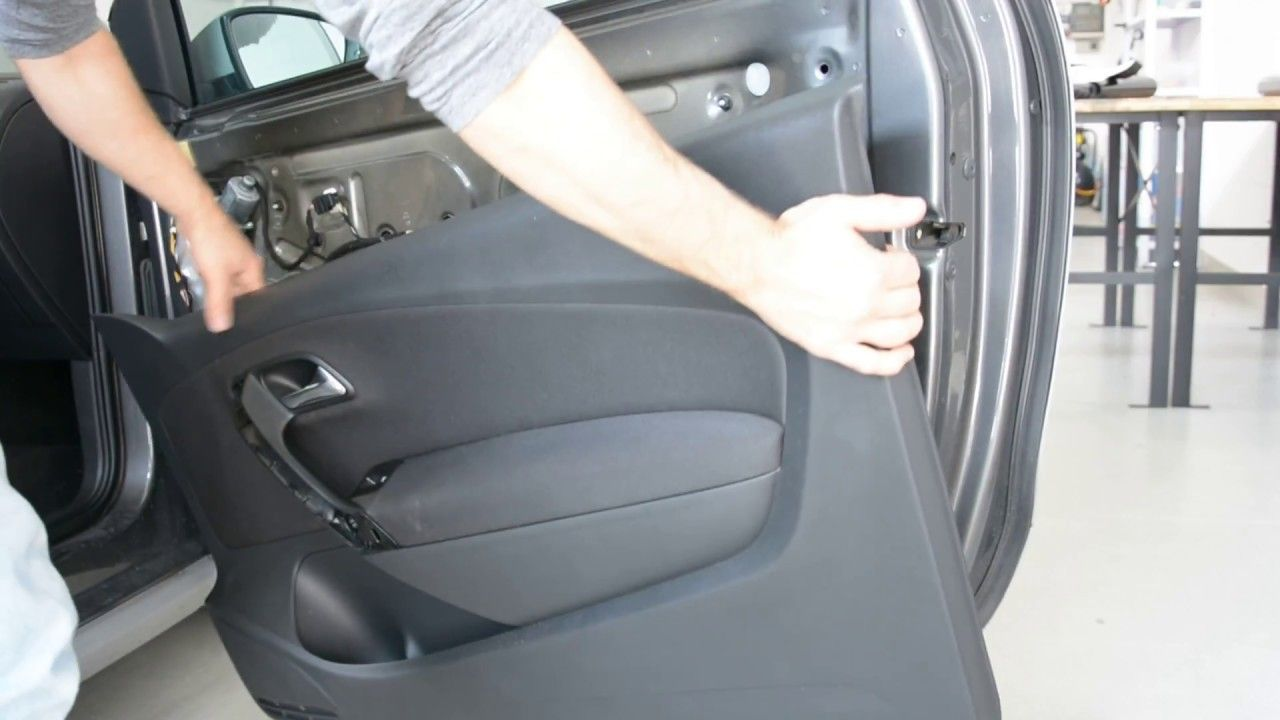 Door Panel Removal Vw Polo 6r How To Vw Polo Panel Doors Polo