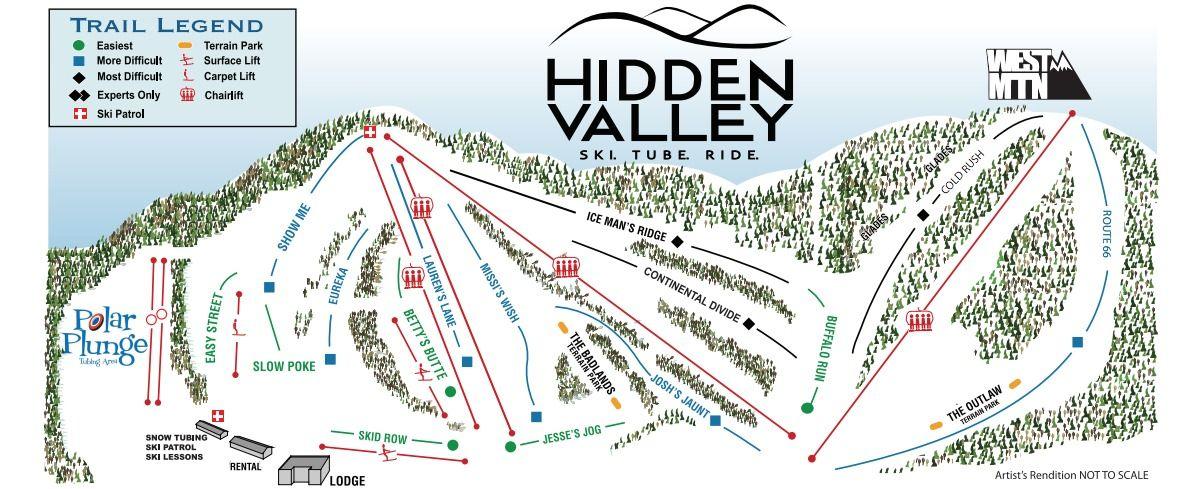 Attractions Across Pennsylvania Hidden Valley Winter Fun Snow Fun