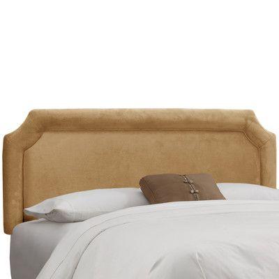 Mercer41 Amber Upholstered Panel Headboard Size: California King ...