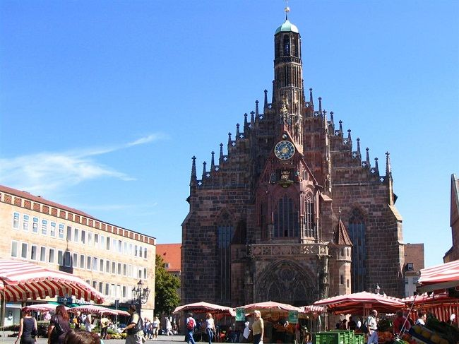 Church of Our Lady Nurnberg germany