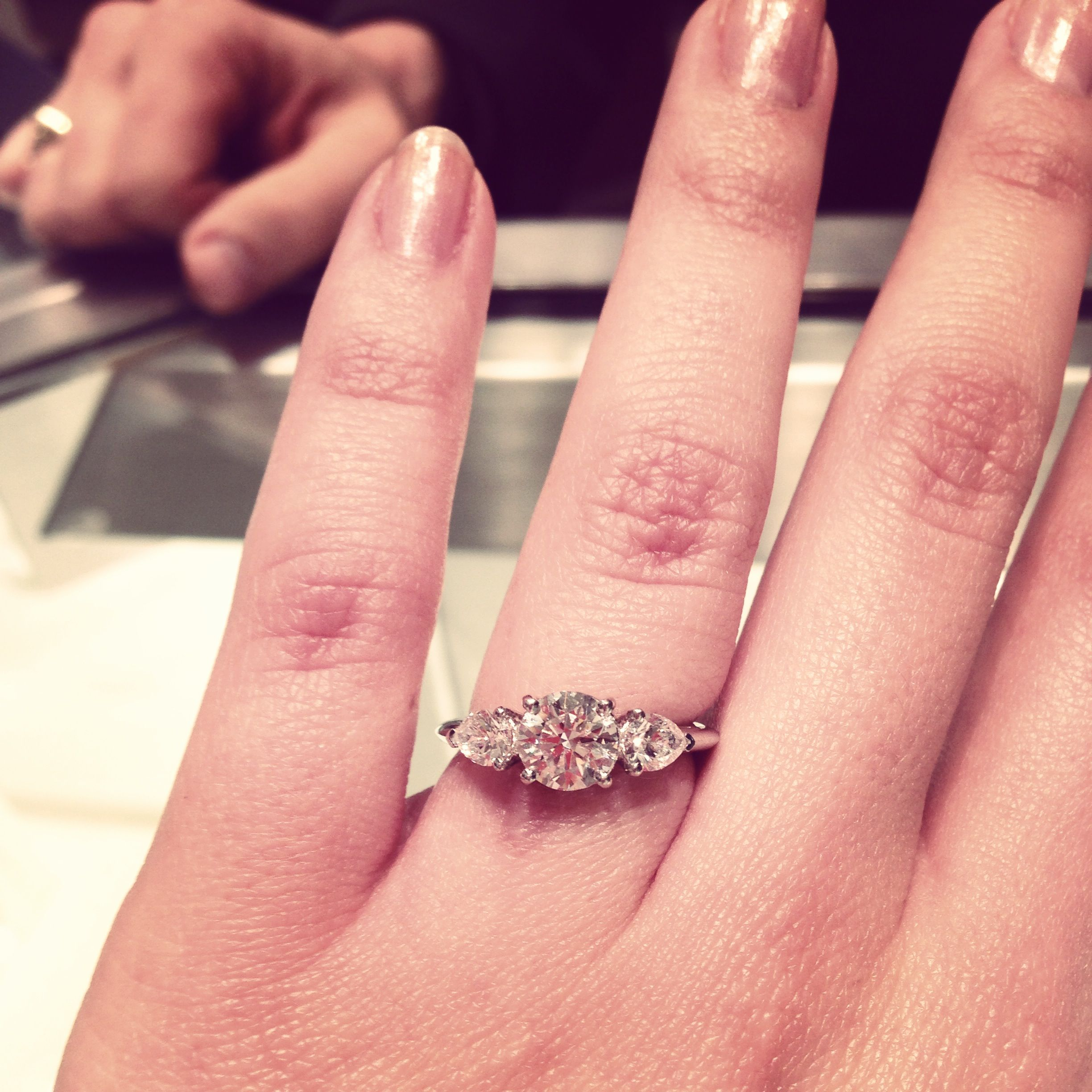 Dream ring from Tiffany's. I'm in love with it.