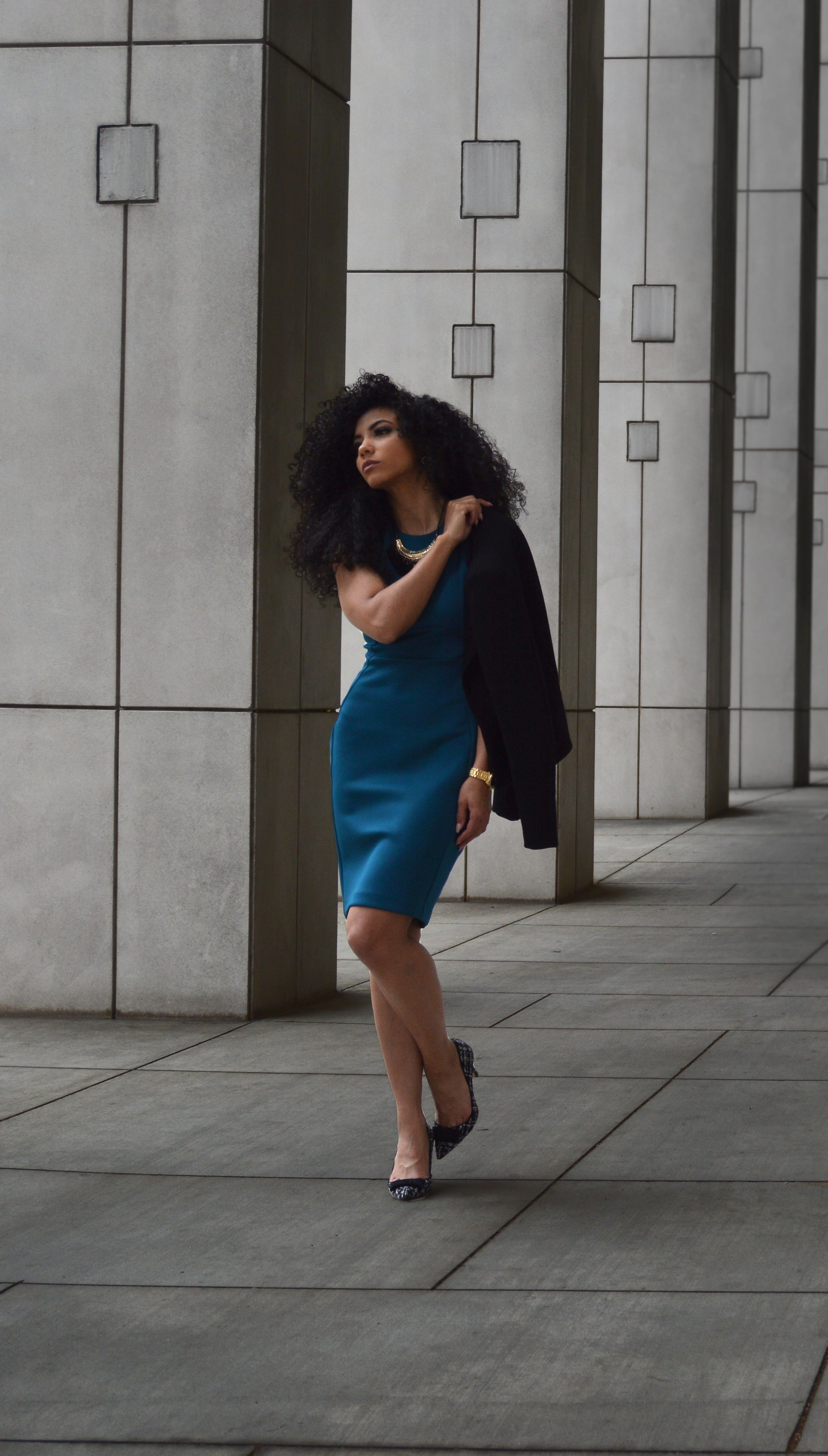 The Dos And Dont S Of Heels In The Office White Collar Glam Professional Outfits Interview Dress Natural Hair Styles For Black Women [ 3983 x 2265 Pixel ]