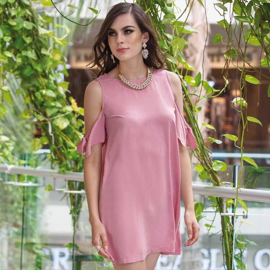 Encantador Vestidos De Dama De Rosa Pétalo Ideas Ornamento ...