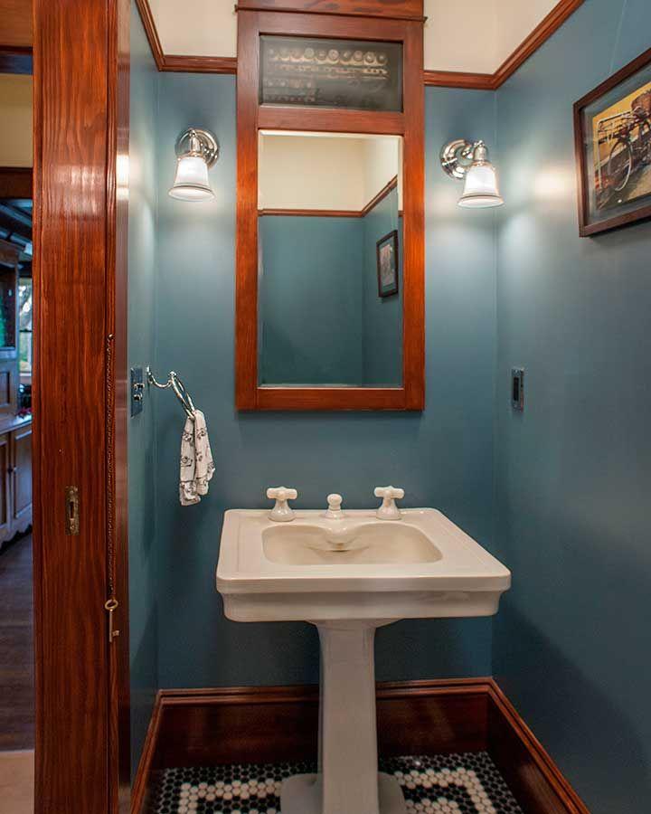 Craftsman bathroom remodels Craftsman Bathroom Pinterest