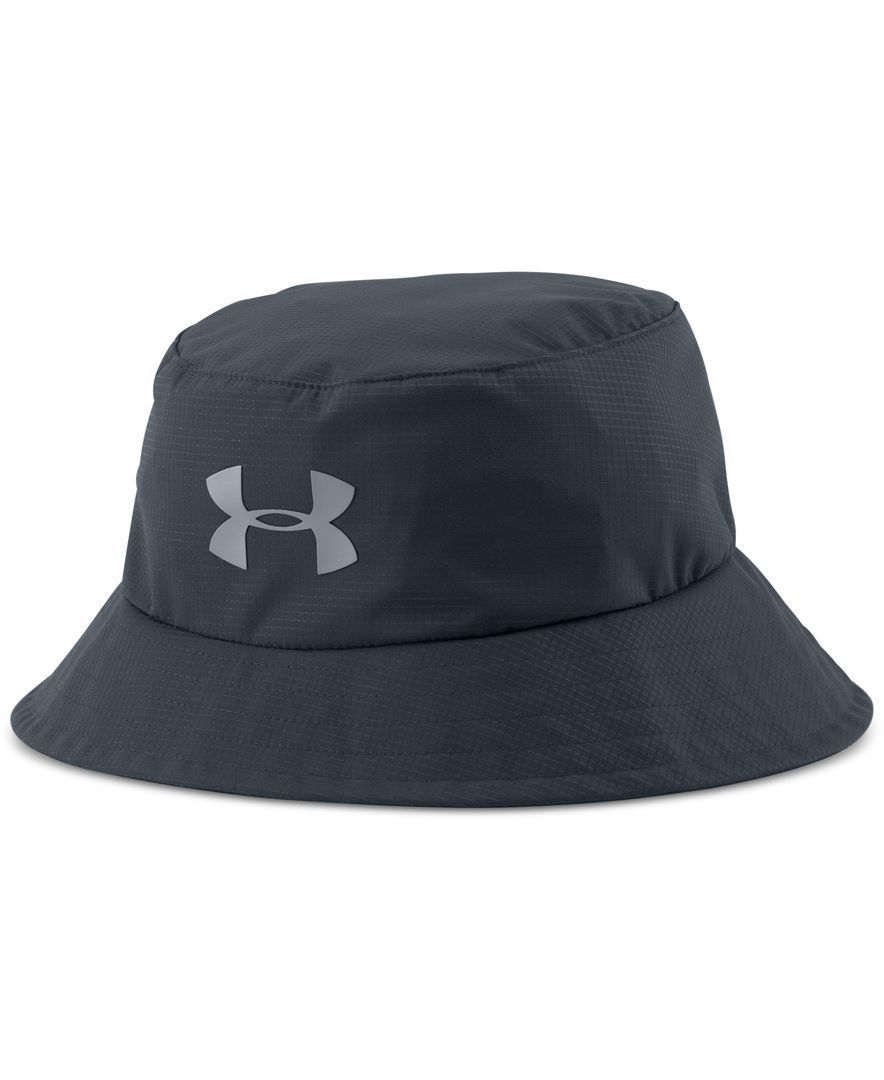 Enjoy breathable comfort plus protection with this golf hat from Under  Armour. The traditional bucket design a836fecaf409