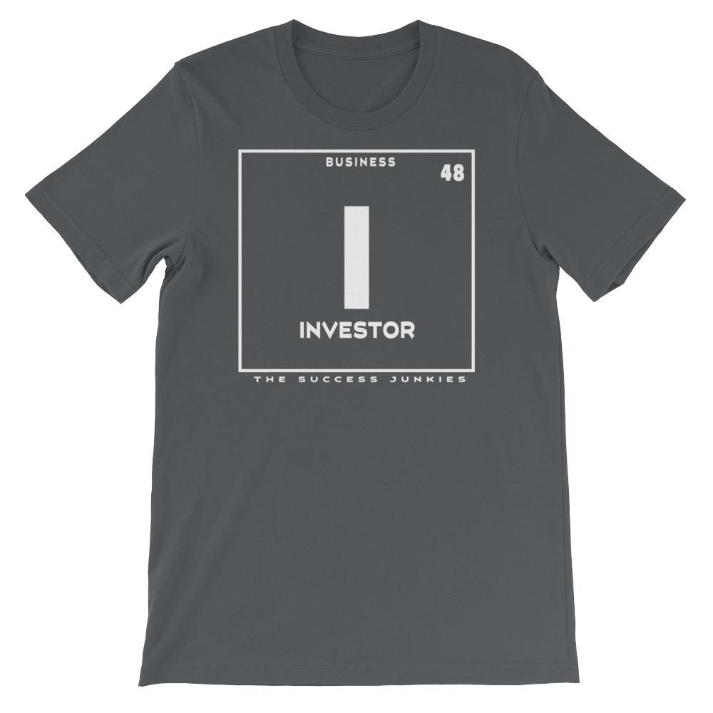 Investor (Periodic Business Element) Short-Sleeve Unisex T-Shirt
