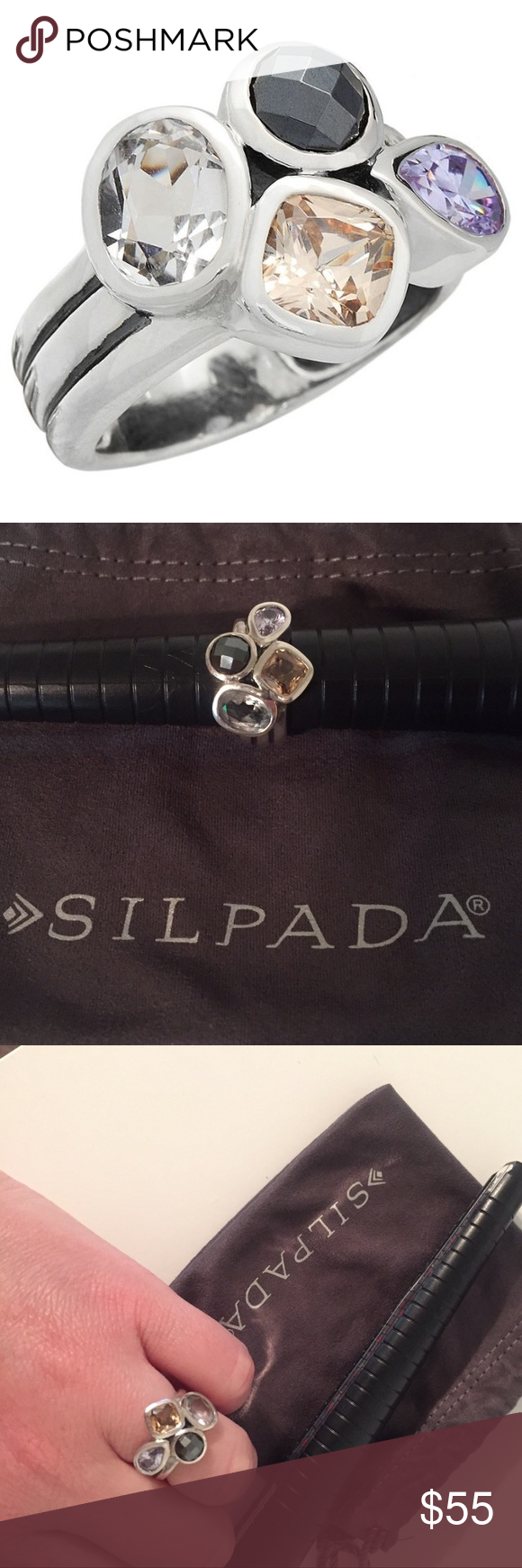 Silpada wine flight ring pinterest silpada jewelry silver ring