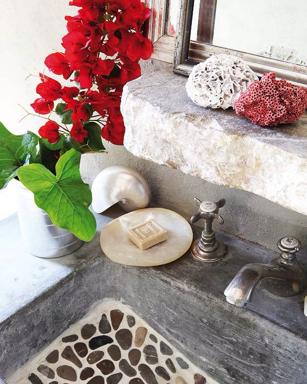 Lavabo low cost original stones