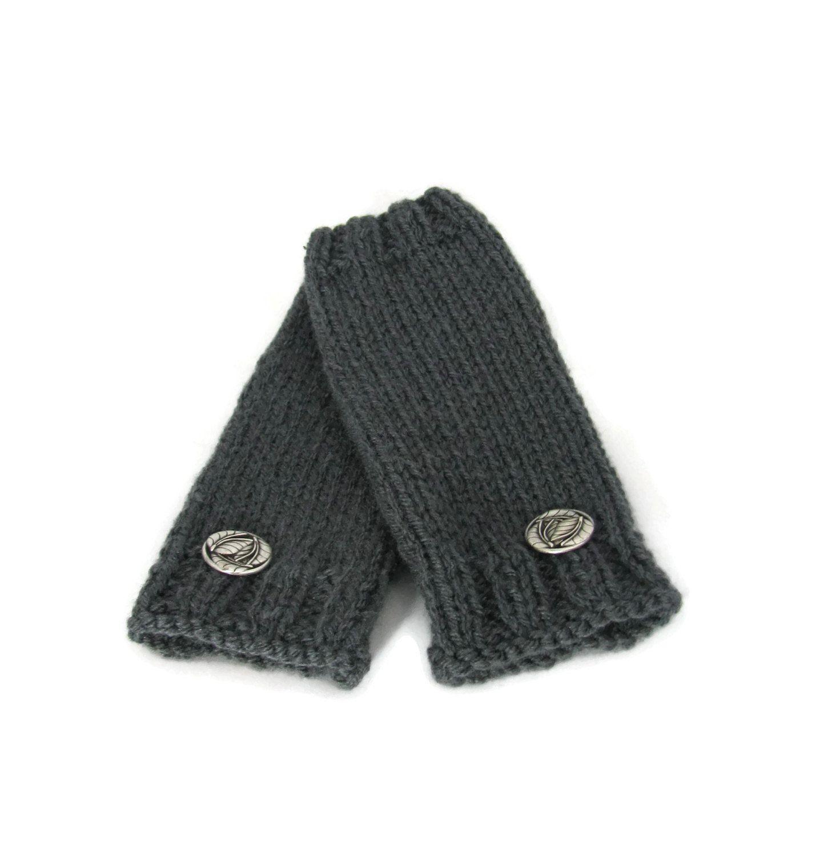 Driving texting gloves - Gray Fingerless Gloves Hand Warmers Texting Gloves Driving Gloves Hand Knit Gloves
