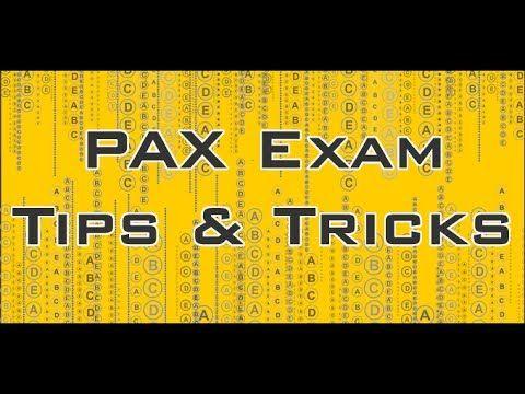 PAX Exam Tips & Tricks - Free NLN PAX Pre-Entrance Exam