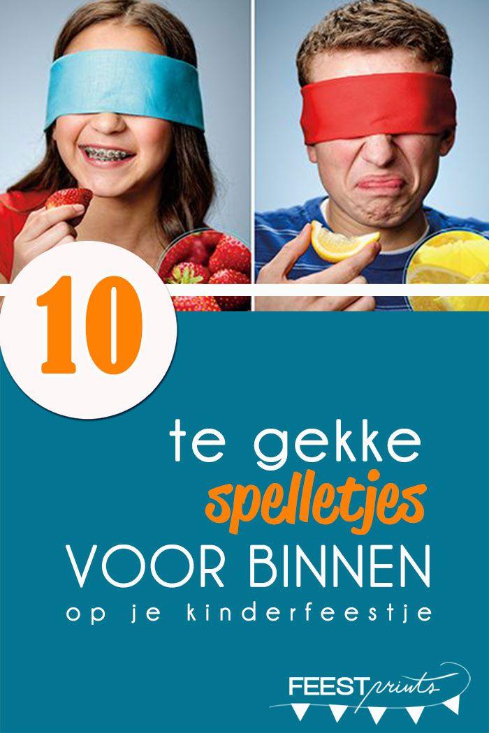 Magnifiek 10 te gekke binnenspelletjes voor je kinderfeestje   Kinderfeestje &ZY93