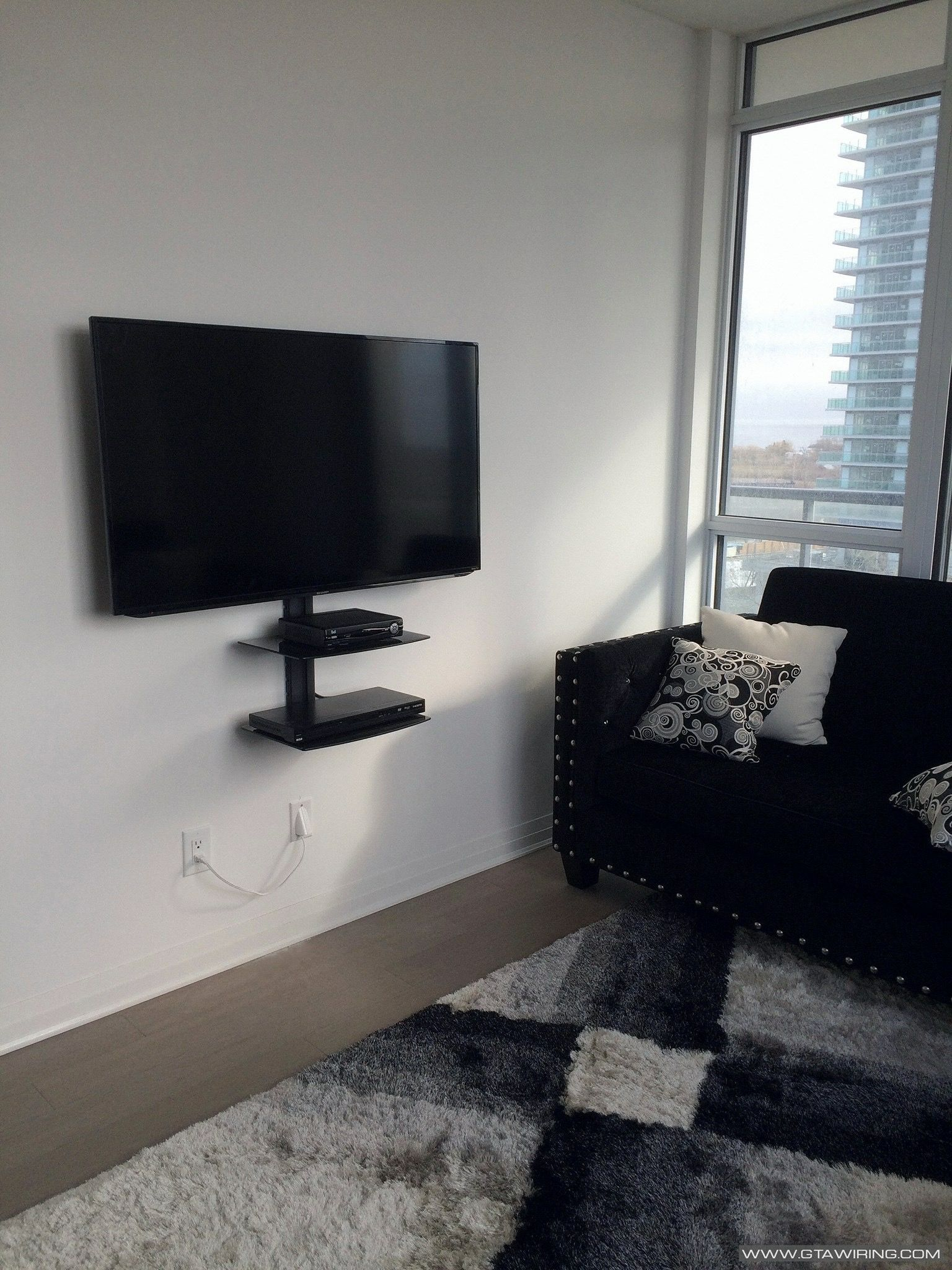 Pin By Joseline Iturralde On Apartment Wall Mounted Tv Media