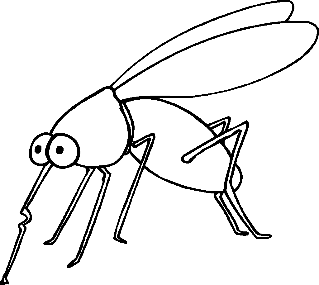 Mosquito Insect Coloring Page Insect Coloring Pages Bug Coloring Pages Animal Coloring Pages