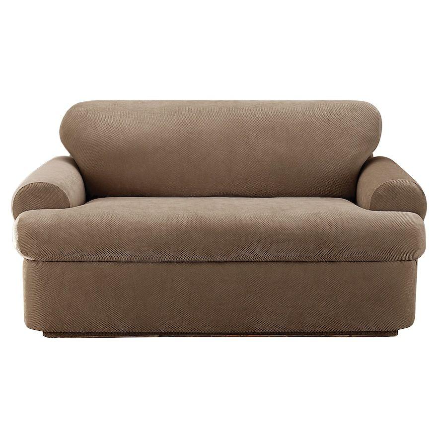 T Cushion Sofa Slipcover Loveseat