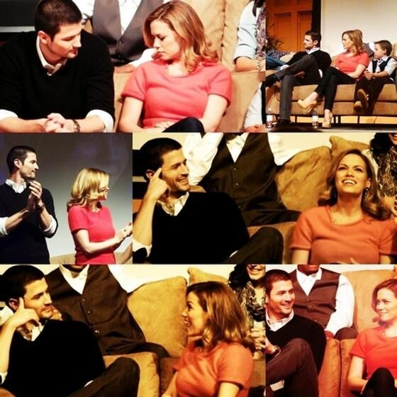 James and Joy at One Tree Hill night