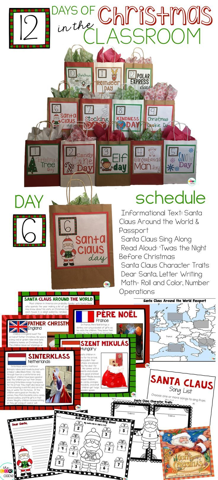12 days of christmas lesson plans will have 1st 3rd grade students 12 days of christmas lesson plans will have 1st 3rd grade students racing to school spiritdancerdesigns Image collections