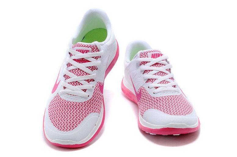 buy popular 4d641 c79cd Womens New Nike Free 4.0 V4 White Pink Pow Flash 642200 100