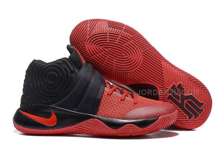 Nike Kyrie 2 Black/Gym Red Kyrie Sneakers Sale, Price: - Air Jordan Shoes,  New Jordan Shoes, Michael Jordan Shoes