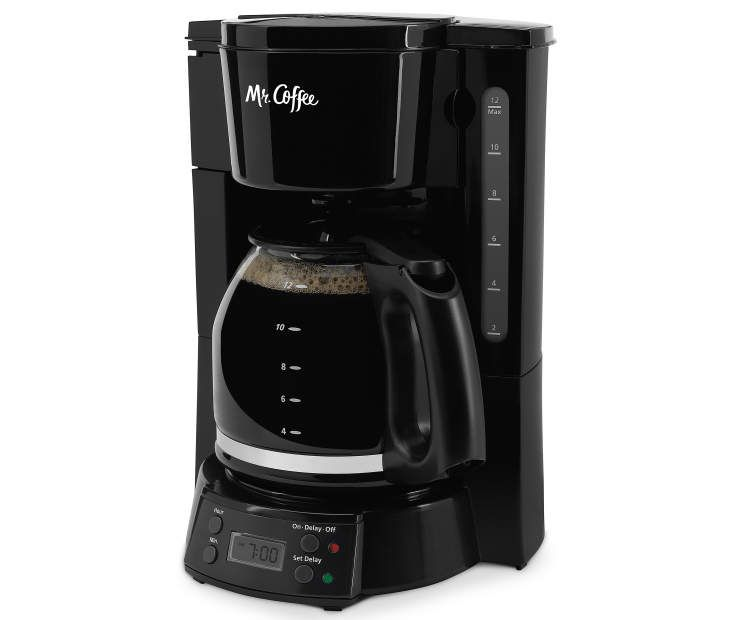 Mr coffee flx series black 12cup programmable coffee