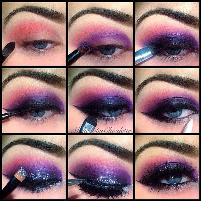 Claudette Makeupbyclaudette Instagram Photos Websta Eye Makeup Pictures Galaxy Makeup Eye Makeup Steps