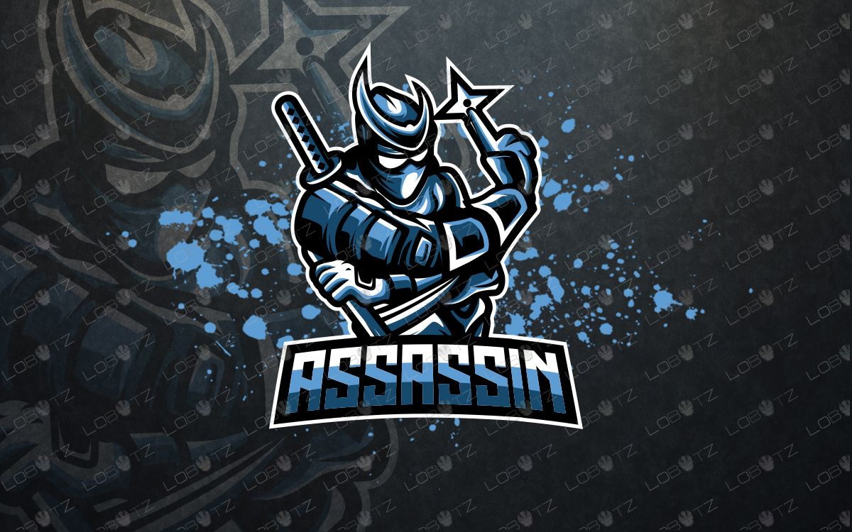 Ninja esports logo ninja mascot logo Esports logo, Ninja