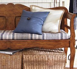 Bench Cushion On Park Bench For Fall Bench Cushions Entryway Bench Cushion Living Room Bench